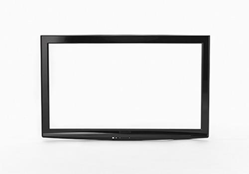 LCD TV front bezel